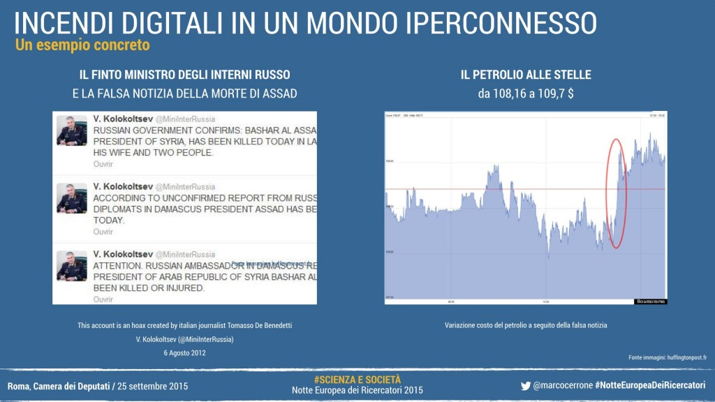 World Economic Forum: le false informazioni come rischio globale