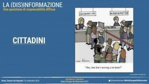 Informazione e disinfomrazione: La responsabilità dei cittadini