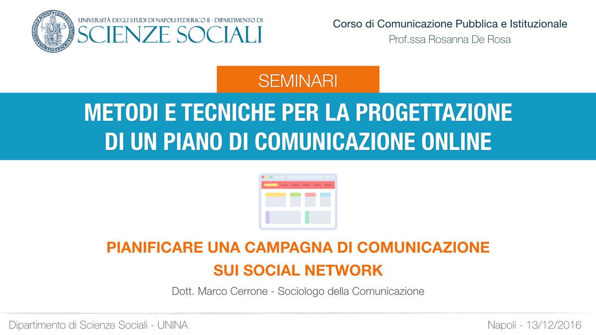 Seminario comunicazione pubblica e istituzionale non detto for Pianificatore di piano online